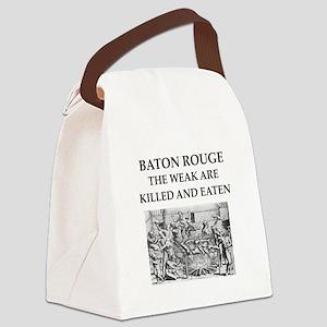 baton rouge,louisiana Canvas Lunch Bag