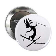 Kokopelli Extreme Skier Button