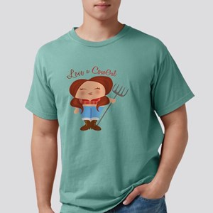 CowGal Mens Comfort Colors Shirt