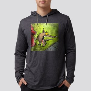 Angry-11 Mens Hooded Shirt