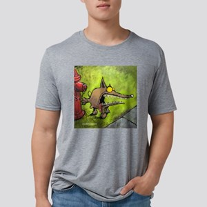 Angry-11 Mens Tri-blend T-Shirt