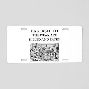 bakersfield Aluminum License Plate