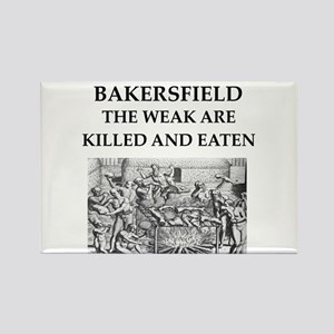 bakersfield Rectangle Magnet
