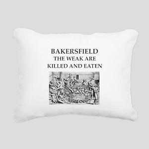 bakersfield Rectangular Canvas Pillow