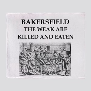 bakersfield Throw Blanket