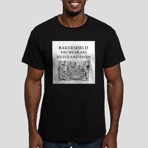 bakersfield Men's Fitted T-Shirt (dark)
