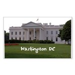 Washington DC Sticker (Rectangle 50 pk)