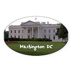 Washington DC Sticker (Oval 50 pk)