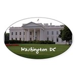 Washington DC Sticker (Oval 10 pk)