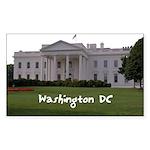 Washington DC Sticker (Rectangle)