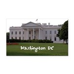 Washington DC Rectangle Car Magnet