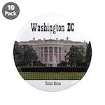 "Washington DC 3.5"" Button (10 pack)"