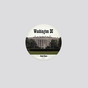 Washington DC Mini Button