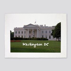 Washington DC 5'x7'Area Rug