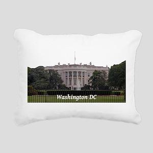 Washington DC Rectangular Canvas Pillow