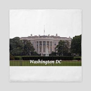 Washington DC Queen Duvet