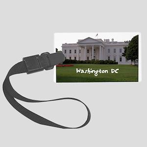 Washington DC Large Luggage Tag
