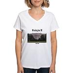 Washington DC Women's V-Neck T-Shirt