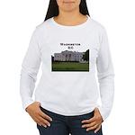 Washington DC Women's Long Sleeve T-Shirt