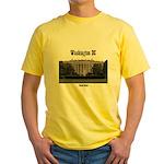Washington DC Yellow T-Shirt