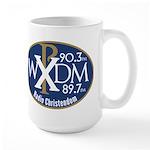 WXDM 90.3 FM Radio Christendom Large Mug