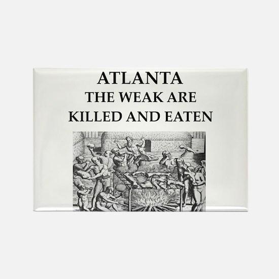 atlanta Rectangle Magnet
