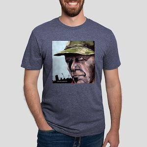 Angry-14 Mens Tri-blend T-Shirt