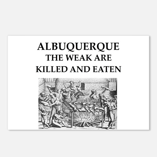 albuquerque Postcards (Package of 8)