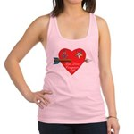 Valentine for the OES and Freemason Racerback Tank