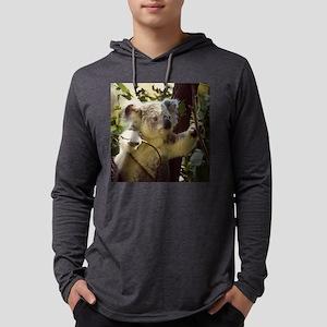Sweet Baby Koala Mens Hooded Shirt