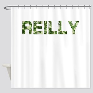 Reilly, Vintage Camo, Shower Curtain