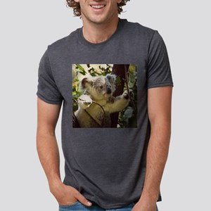 Sweet Baby Koala Mens Tri-blend T-Shirt