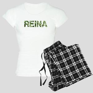 Reina, Vintage Camo, Women's Light Pajamas