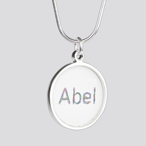 Abel Paperclips Silver Round Necklace