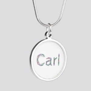 Carl Paperclips Silver Round Necklace