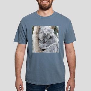 Sleeping Koala baby Mens Comfort Colors Shirt