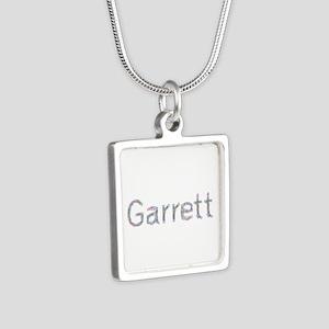 Garrett Paperclips Silver Square Necklace