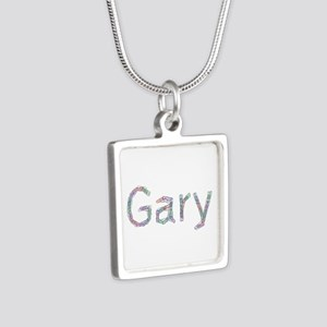 Gary Paperclips Silver Square Necklace