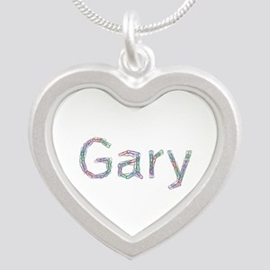 Gary Paperclips Silver Heart Necklace