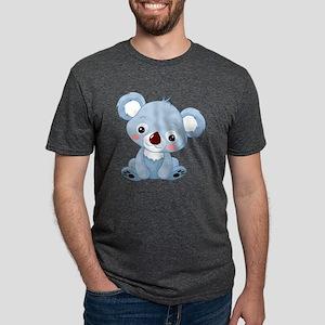 Baby Koala Mens Tri-blend T-Shirt