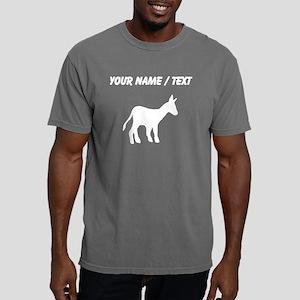 Custom Mule Silhouette Mens Comfort Colors Shirt