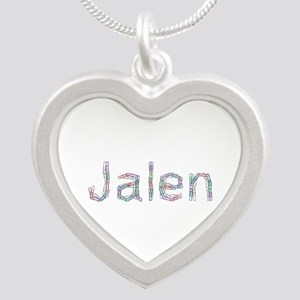 Jalen Paperclips Silver Heart Necklace
