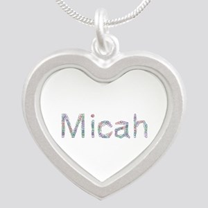 Micah Paperclips Silver Heart Necklace