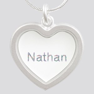Nathan Paperclips Silver Heart Necklace