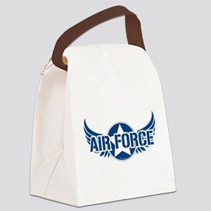 Air-Force-Wings Canvas Lunch Bag