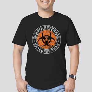 Zombie Outbreak Response Team 2 Men's Fitted T-Shi