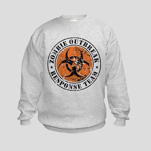 Zombie Outbreak Response Team 2 Kids Sweatshirt