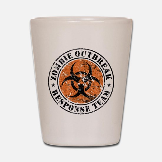 Zombie Outbreak Response Team 2 Shot Glass