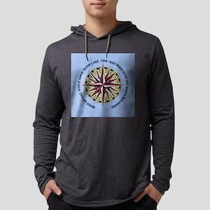 compass-rose3-BUT Mens Hooded Shirt