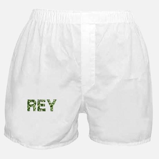 Rey, Vintage Camo, Boxer Shorts